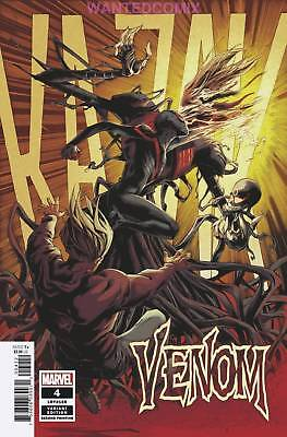 VENOM #4 2nd PRINT VARIANT COVER DONNY CATES SOLD OUT MARVEL COMIC BOOK NEW 1