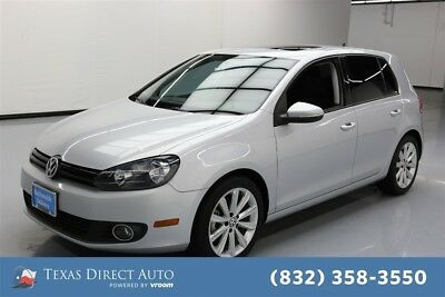2013 Volkswagen Golf TDI Texas Direct Auto 2013 TDI Used Turbo 2L I4 16V Automatic FWD Hatchback Moonroof
