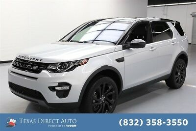 2017 Land Rover Discovery Sport HSE Luxury Texas Direct Auto 2017 HSE Luxury Used Turbo 2L I4 16V Automatic 4WD SUV