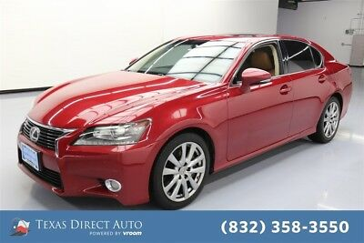 2013 Lexus GS  Texas Direct Auto 2013 Used 3.5L V6 24V Automatic RWD Sedan Moonroof Premium