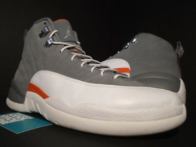 quality design 829b3 c66ca 2012 NIKE AIR Jordan Xii 12 Retro Cool Grey White Orange Wings Og  130690-012 11