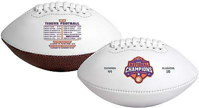 2019 College Football National Champions Full Sized Football Clemson Tigers