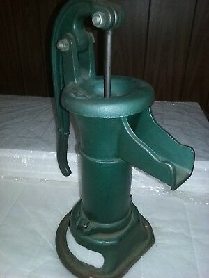 Antique Farm House Littlestown Foundry. PA  Hand Water Well Pump Cast Iron