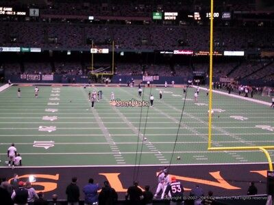 3 Tickets 2nd PRESEASON Game 2019 @ vs New Orleans SAINTS Field Sec 129 Row 3