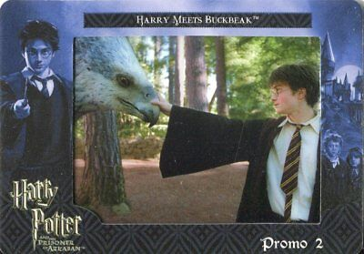Harry Potter Prisoner Of Azkaban Film Cardz Promo Card P2