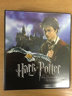 Harry Potter Prisoner Of Azkaban Trading Card Binder
