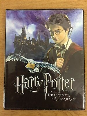 Harry Potter Prisoner Of Azkaban Trading Card Mini Binder With Pocket Pages