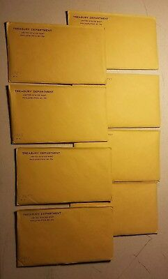 1957 Silver Proof Coin Set United States Mint IN ORIGINAL MINT SEALED ENVELOPE