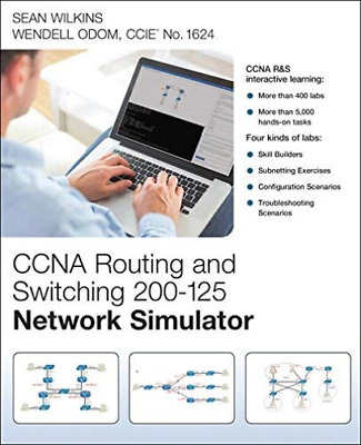 Wilkins Sean/ Odom Wendell-Ccna Routing And Switching 200-125 Network  HBOOK NEW