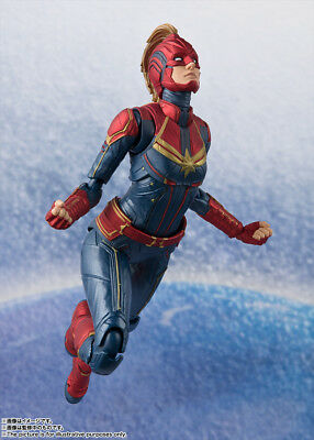 BANDAI S.H.Figuarts Captain Marvel Avengers Infinity War Iron man Thor Spider