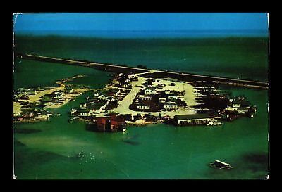 Dr Jim Stamps Us Conch Key Overseas Highway Key West Florida Chrome Postcard