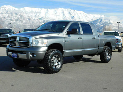 2007 Dodge Ram 2500 LARAMIE LIFTED DODGE RAM MEGA CAB LARAMIE 4X4 CUMMINS DIESEL CUSTOM WHEELS TIRES AUTO