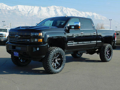 2019 Chevrolet Silverado 3500HD LTZ LIFTED CHEVY CREW CAB LTZ SPORT 4X4 DURAMAX DIESEL CUSTOM WHEELS TIRES LEATHER