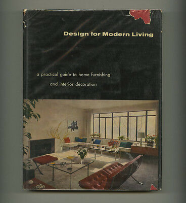 1962 Gerd Hatje DESIGN for MODERN LIVING Poul Kjaerholm Harry Bertoia 320-pg HcD