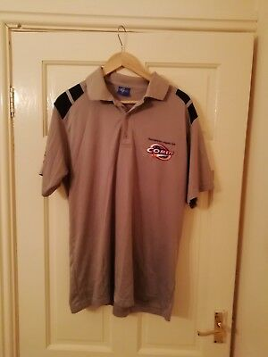 GENUINE BRISBANE BRONCOS RUGBY Polo shirt vgc size L men's