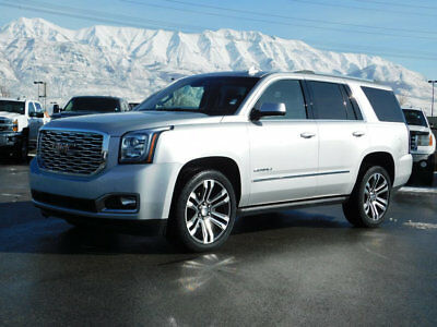 2018 GMC Yukon DENALI GMC YUKON DENALI 4X4 AWD SUV 6.2 VORTEC LEATHER NAVIGATION SUNROOF 22 WHEELS