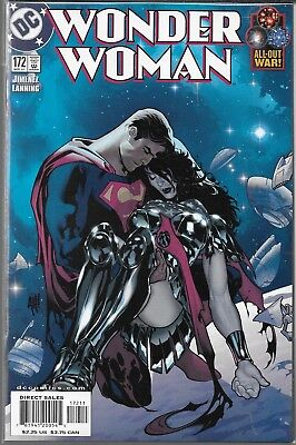 Wonder Woman #172 (Vf/nm) Adam Hughes Superman Cover