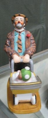 Emmett Kelly Circus Collection Clown Collectible Figurine Measures Approx. 6 1/2