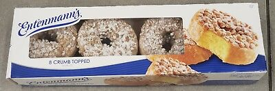 FRESH Entenmann's Donuts 8 Count Crumb Topped Pack