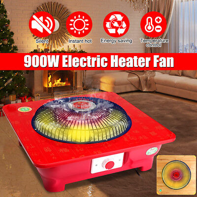 600W-1200W Portable Electric Space Heater Fan Winter Hot Thermostat Home/Garage