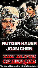 Rutger Hauer Joan Chen The Blood Of Heroes Vhs Vincent D'onofrio Out Of Print