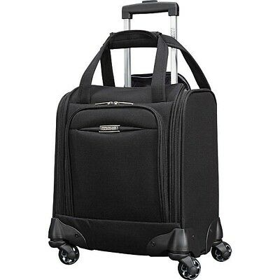 NEW American Tourister Meridian NXT 16 spinner underseat suitcase carry on Black