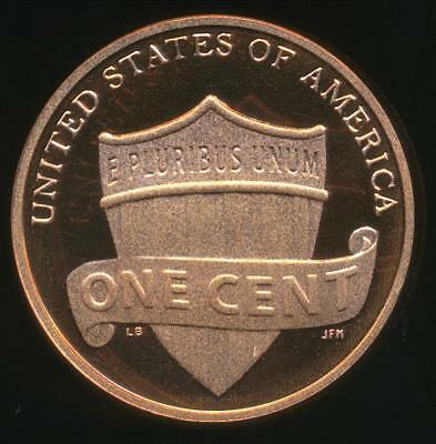 United States, 2010-S One Cent, 1c, Shield Reverse - Proof