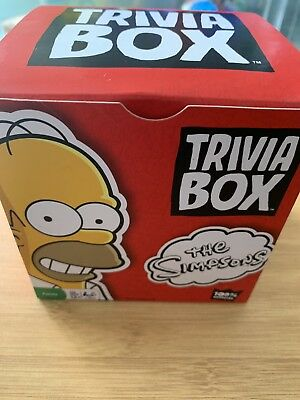 The Simpsons Trivia Box