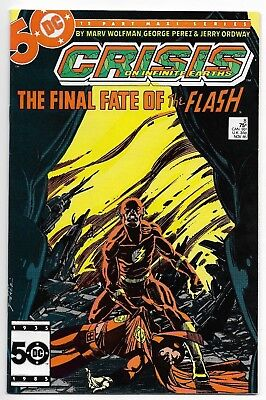 Crisis on Infinite Earths #8 Death of The Flash: Barry Allen NM- SEE MY ITEMS!!!