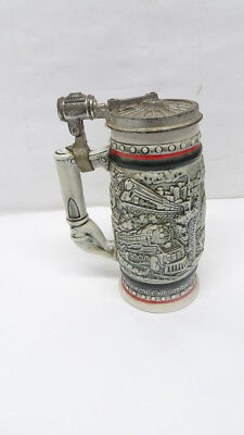 """Avon Beer Stein """"Age of the Iron Horse"""" Railroad - 8/L51099A"""