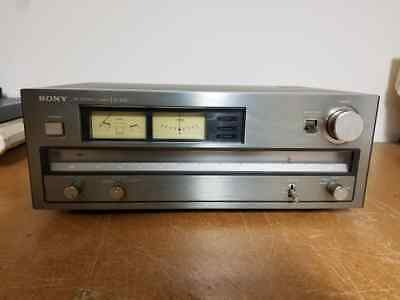 Rare Vintage Sony ST-A6B FM Stereo Tuner Made in Japan - Clean