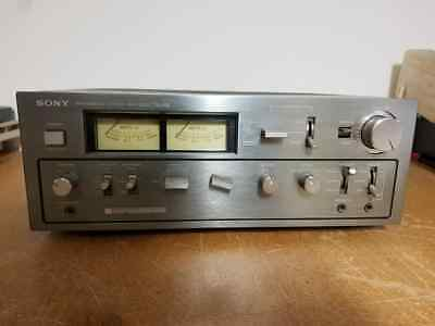 Rare Vintage Sony TA-F6B Integrated Stereo Amplifier - Right Channel Dead As-Is