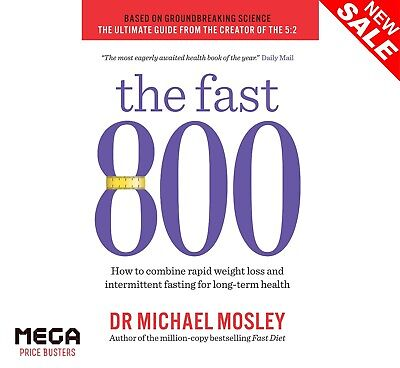 New Food Cooking Diet Weight Loss Recipes PB Book The Fast 800 By Michael Mosley
