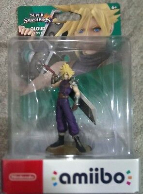 NEW Nintendo amiibo CLOUD Super Smash Bros Airmail only