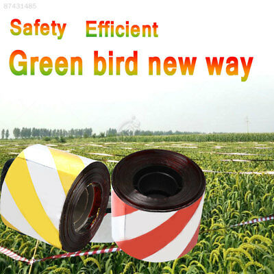 4C07 PET Anti Bird Belt Bird Scare Tape Tree Ponds Pigeons Crop Outdoors Lawns