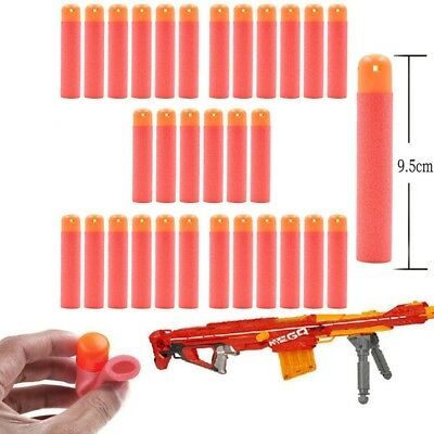 30x Refill Mega Darts for Nerf N-Strike Elite Mega Gun Toy Blasters Bullets Red