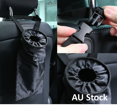 AU stock Car Seat Back Trash Holder Hang Litter Bag Garbage Storage Rubbish