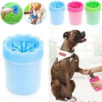 1PC Portable Pet Paw Mudbuster Mud Cleaner Washer Dog Cat Pet Paw Plunger Cup UK