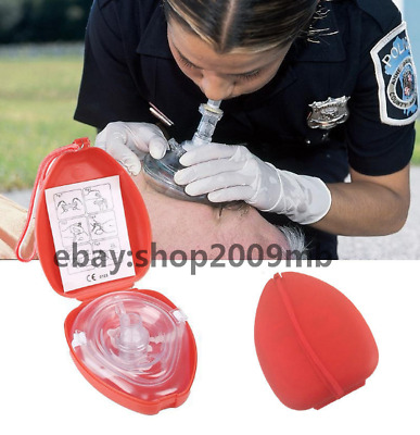 Medical CPR Resuscitator Rescue First Aid Masks Breathing Mask Mouth Breath
