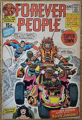 Forever People #1 FIRST FULL DARKSEID Jack Kirby New Gods
