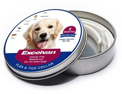 Bayer Seresto Flea and Tick Collar for Large Dogs Waterproof 6Months Protection