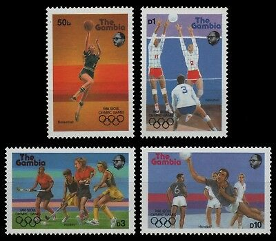 Never Hinged 1987 60 Years Mick 100% Original Gambia Block42 Unmounted Mint complete Issue