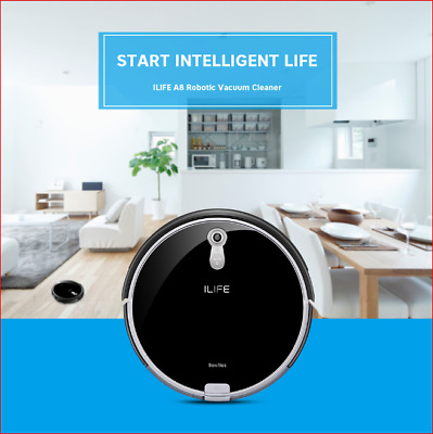 Ilife A8 Robotic Vacuum Cleaner Anti-Collision Remote Control Home Robot Sweeper