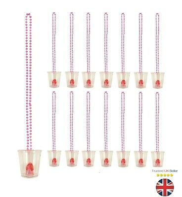 Hen Party Shot Glasses Fun Drinking Game Team Bride Accessories Uk Seller