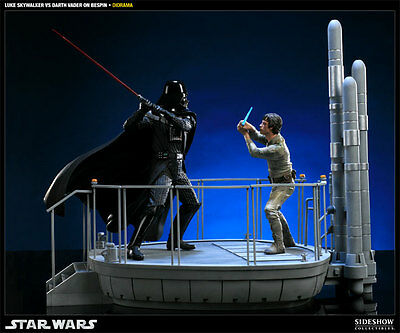 Sideshow I Am Your Father  Luke Skywalker VS Darth Vader on Bespin Star Wars Dio
