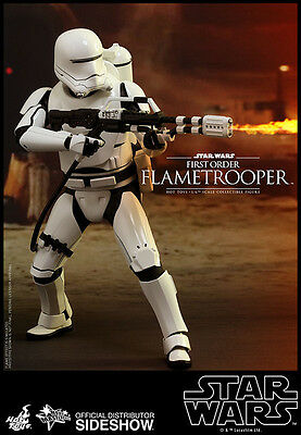 Sideshow Hot Toys Star Wars Episode VII Movie MP  1/6 First Order Flametrooper