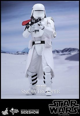 Sideshow Hot Toys Star wars First Order Snowtrooper Officer EP7 1/6 Figur