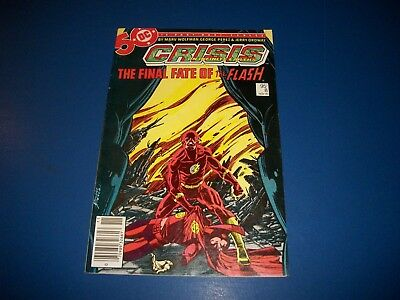 Crisis on Infinite Earths #8 Death of Flash FVF Beauty Wow Justice League
