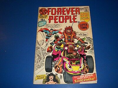 Forever People #1 Bronze age Kirby 1st Darkseid Key VG- Wow