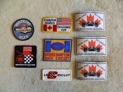 Automobilia/seven Patches/bridgehampton/can Am/grand Prix Du Canada/le Circuit
